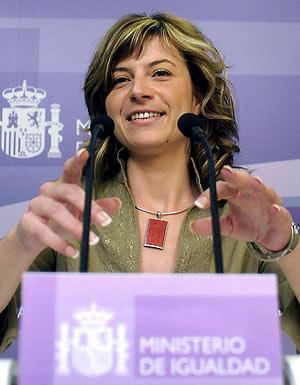 La ministra de Igualdad, Bibiana Aído. (Foto: EFE)