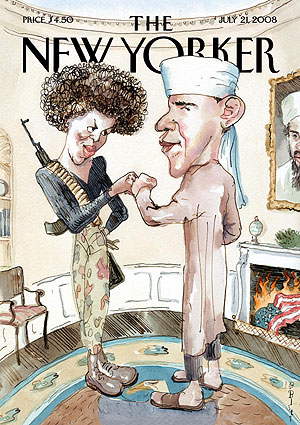 Portada de la revista 'The New Yorker' (14 de julio).