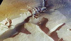 Una de las imáganes captada por la cámara del 'Mars Express'. (Foto: ESA | REUTERS)