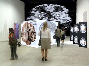 Una de las exhibiciones que puede visitar el público en ESOF, dedicada al conocimiento de la mente humana. (Foto: ESOF)