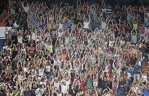 Una imagen del público durante el concierto. (Foto: C. B.)