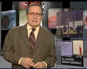 Pedro Erquicia, mítico presentador de 'Documentos Tv'. (Foto: La 2).