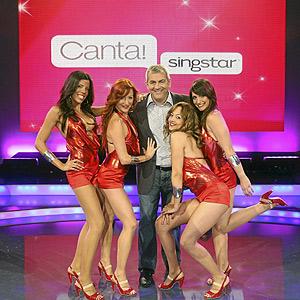 Carlos Sobera, el presentador de 'Canta Singstar'. (Foto: TVE).