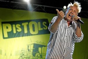 Lydon, durante el concierto. (Foto: Alberto Di Lolli)