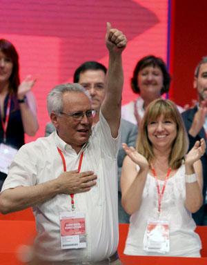 Isidre Molas tras su elección. (Foto: EFE)