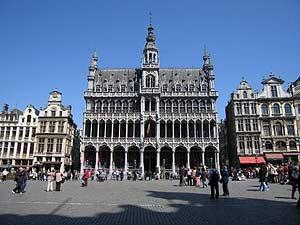 Plaza principal de la capital belga. (FOTO: EL MUNDO)