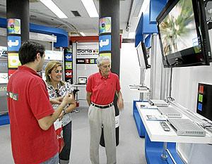 Centro de información de TDT. (Foto: JAVI MARTÍNEZ)