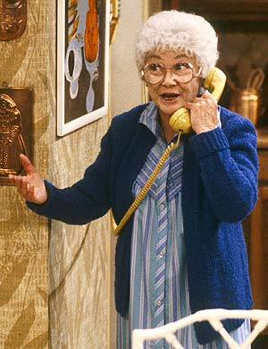 Estelle Getty, en su papel de Sophia Petrillo. (Foto: REUTERS)