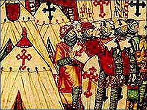 Los miembros de la Orden de los Templarios fueron acusados de herejía.