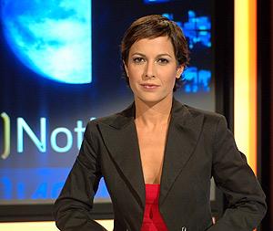 Mara Torres, presentadora de La 2 Noticias. (Foto: TVE)