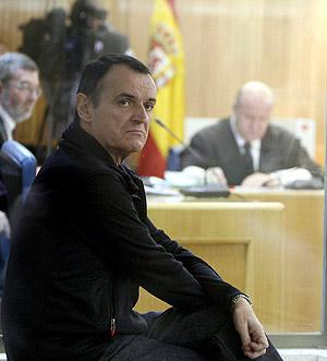 El etarra De Juana Chaos en la Audiencia Nacional. (Foto: EFE)
