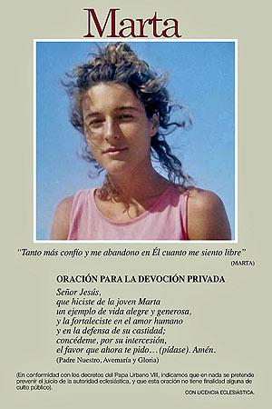 Mucha gente utiliza ya esta estampa de Marta Obregón para rezar.