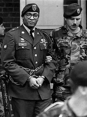 Ronald Gray, el militar acusado, en una imagen de 1988. (Foto: AP)