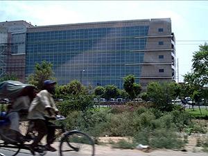 Un edifico de oficinas en Gurgaon. (Foto: Ankur Yadav)