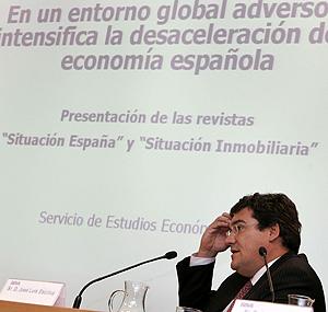 José Luis Escrivá, director del Servicio de Estudios del BBVA. (Foto: EFE)