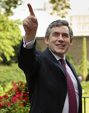 Gordon BRown, primer ministro británico. (FOTO: AP)