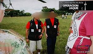Imagen de miembros de la 'Operación Jaque', en el vídeo difundido esta semana. (Foto: EFE | RCN)