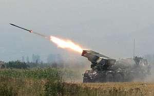 Misiles georgianos en Osetia. (Foto: AFP)