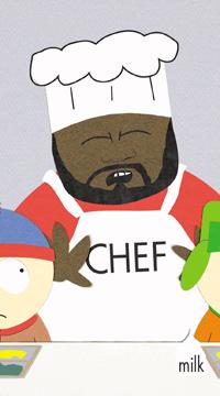 El chef de South Park, al que puso voz Hayes. (Foto: AP)