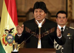 El presidente de Bolivia, Evo Morales. (Foto: Martín Alipaz/EFE).