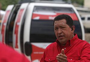 Chavez, en 'Aló Presidente'. (Foto: EFE)