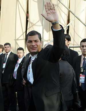 Rafael Correa, presidente de Ecuador, en una foto de archivo. (Foto: EFE)
