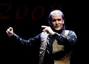 El bailaor madrileño Alfonso Losa. (Foto: EFE)