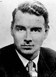El espía Guy Burgess.