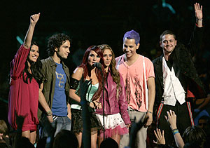 Foto de archivo de los componentes de la banda juvenil mexicana RBD. (Foto: AP)