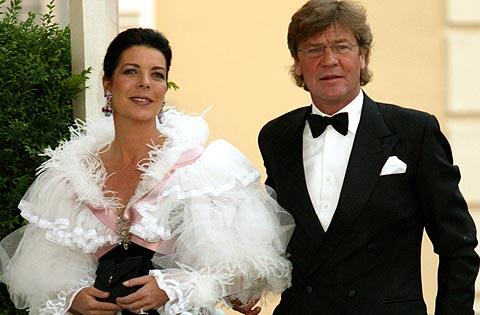 Carolina de Mónaco y Ernesto de Hannover. (Foto: REUTERS)