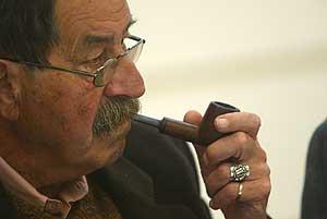 El escritor Günter Grass (Foto: Quique García)