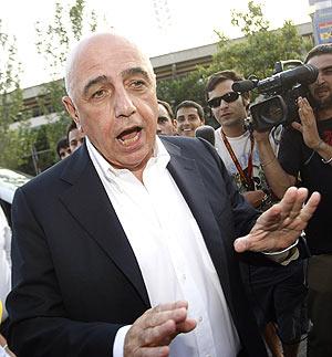 Galliani, presidente de la liga de fútbol italiana. (Foto: Reuters)