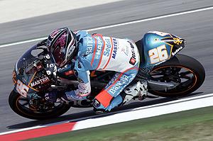 Adrián Martín, debutante español en el Gran Premio de San Marino de este domingo (Foto: TEAM ASPAR).