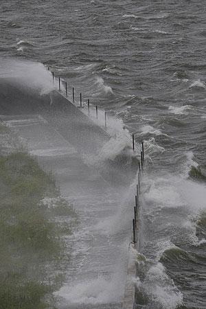 Un canal en Nueva Orleans sobre pasado por las aguas. (Foto: AP)