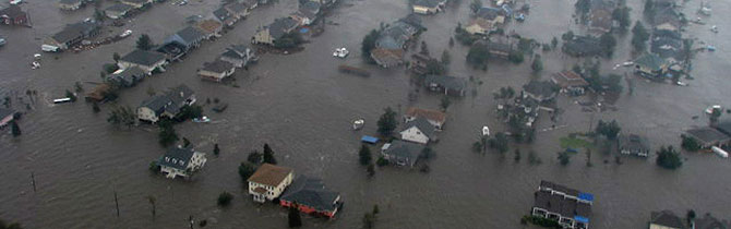 Imagen de las inundaciones provocadas por 'Gustav' cerca del Lago Pontchartrain. (AP) Fotos y vídeos