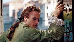 El actor fallecido Heath Ledger, en una escena de la película 'Casanova'. (Foto: Doane Gregory)