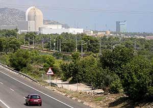 Vista de la central nuclear de Vandellós. (Foto: EFE)