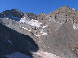 Glaciar de La Paul en los Pirineos. (Foto: Juan José González Trueba   SINC)
