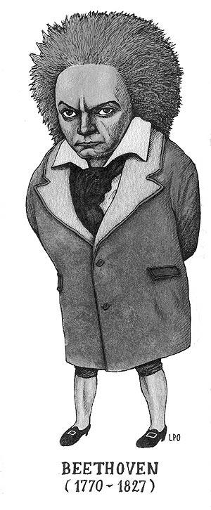 Ludwig van Beethoven. (Ilustración: LPO)