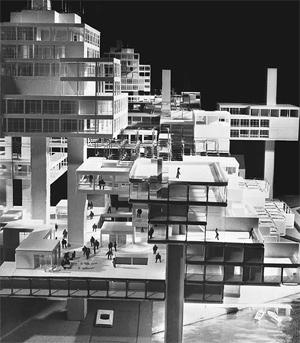 El Metastadt, una aglomeración urbana con esqueleto de acero. (Foto: ELMUNDO.ES) [ÁLBUM]