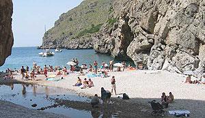 La playa de Sa Calobra (Foto: El Mundo)