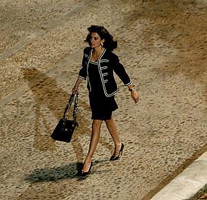 Penélope Cruz, durante el rodaje. (Foto: EFE)