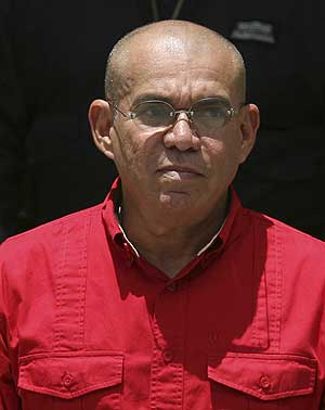 El ministro de Interior venezolano Ramón Rodríguez Chacín. (Foto: REUTERS)