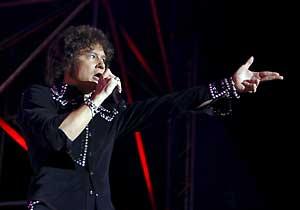 El cantante zaragozano Enrique Bunbury (Foto: EFE)