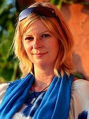 La periodista y activista británica Lauren Booth. (Foto: EFE)