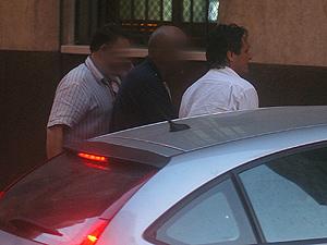 Claude Roch Tabarot saliendo de los juzgados (Foto: CRISTÓBAL LUCAS).