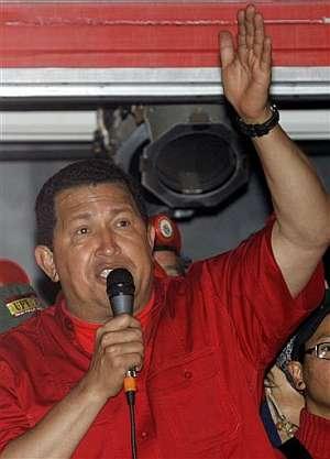 El presidente de Venezuela, durante un discurso en el Palacio de Miraflores. (Foto: AP)