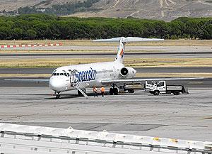 Avión similar al siniestrado. (Foto: Óscar Monzón)