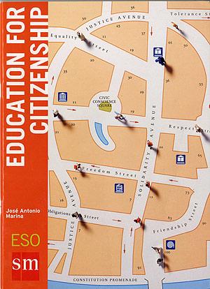 Portada de uno de los manuales de 'Educación para la Ciudadanía' editados en inglés.