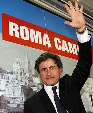 El alcalde de Roma, Gianni Alemanno. (Foto: AP)